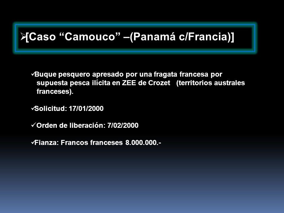 [Caso Camouco –(Panamá c/Francia)]